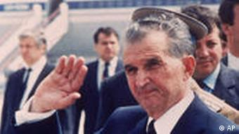 Romania's former leader Nicolae Ceausescu