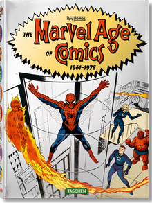 Book cover The Marvel Age of Comics 1961–1978