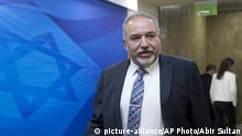 Israel Verteidigungsminister Avigdor Lieberman (picture-alliance/AP Photo/Abir Sultan)