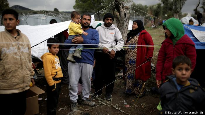 Bildergalerie Moria Flüchtlingscamp