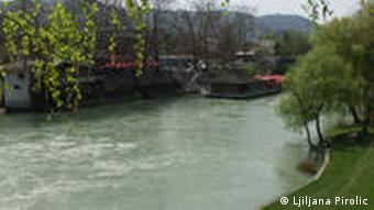Fluss Vrbas