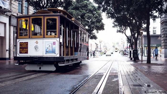 USA Cable Car in San Francisco (Imago/M. Aurich)