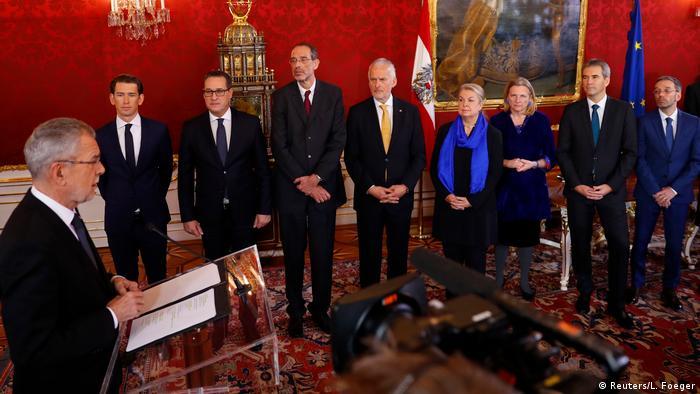 Новое правительство Австрии