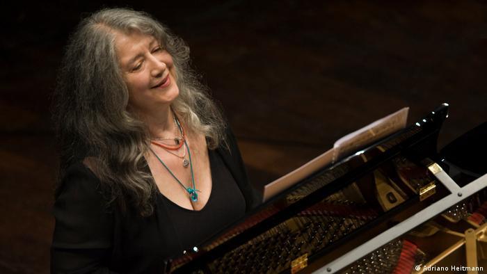 Pianistin Martha Argerich