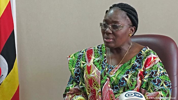 Uganda Kampala Rebecca Kadaga Sprecherin Parlament