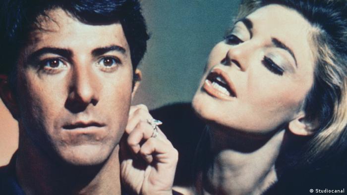 Dustin Hoffman und Anne Bancroft im Film Die Reifeprüfung (Studiocanal)