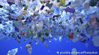 Plastik-Müll im Meer