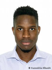 Russland, Kussokila Albashir, angolanischer Student
