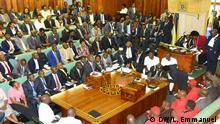 Uganda Parlament Debatte über Alter für Präsidialamt