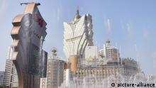 Wasserspiele in Macau