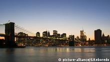 New York, Skyline, Brooklyn Bridge, Manhattan