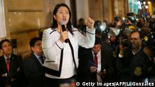 Peru Keiko Fujimori, Oppositionspartei Fuerza Popular (Getty Images/AFP/L. Gonzales)