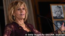 09.12.2017ATLANTA, GA - DECEMBER 09: Academy-Award Winning Actress Jane Fonda speaks at GCAPP Eight Decades of Jane in celebration of Jane Fonda's 80th birthday at The Whitley on December 9, 2017 in Atlanta, Georgia. (Photo by Rick Diamond/Getty Images for GAACP)
