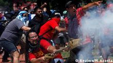 Argentinien Proteste in Buenos Aires