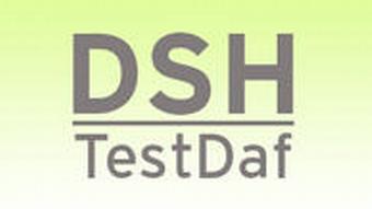 DSH TestDaf Aufnahmeprüfung für ausländische Studenten Symbolbild Grafik