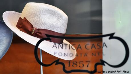 Borsalino Hutmode (Getty Images/AFP/V. Pinto)