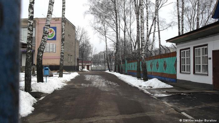 На территории могилевского спецпрофтехучилища закрытого типа