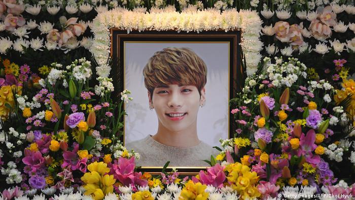 Südkorea Sänger Kim Jong-hyun von SHINee gestorben