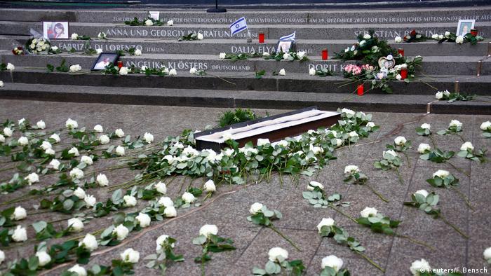 Мемориал в память о жертвах теракта в Берлине