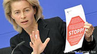 Germany's Family Affairs' Minister, Ursula von der Leyen