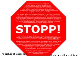 Das rote Stopp-Schild (Foto: dpa)