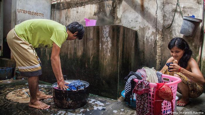 Kambodscha Textilarbeiterin (Getty Images/O.Havana)