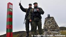 Border between Russia and Norway | The Yekaterininsky Boundary Stone (Imago/ITAR-TASS/L. Fedoseyev)