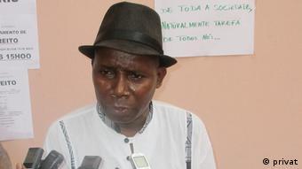 Guinea Bissau Journalist Antonio Nhaga