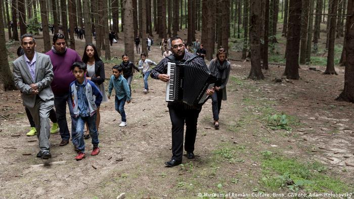 Tschechien Denkmal Holocaust an Roma in Hodonin