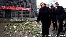 Berlin Gedenken Breitscheidplatz Angela Merkel