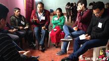 DW Akademie - Zeitzeuge Felipe Itzep (48) spricht über die Massaker an den Bewohnern des Dorfes Xix
