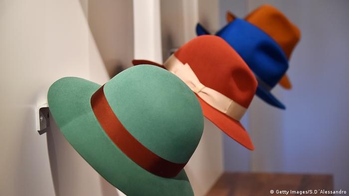 four Borsalino hats (Getty Images/S.D´Alessandro)