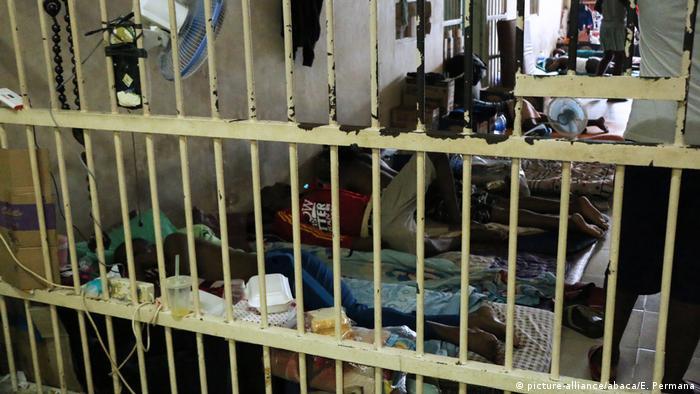 Pritvor za useljenike u Indoneziji