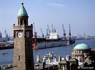 هامبورغ مدينة اقتصادية وسياحية في آن واحد