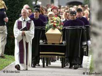 Cardinal Karl Lehmann wants to see death done the traditional way