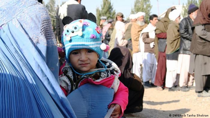Afghansitan UNHCR startet Winterhilfe für Vertriebene im Westen (DW/Shoib Tanha Shokran)