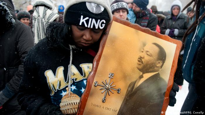 USA Martin Luther King Parade (Getty Images/AFP/J. Conolly)