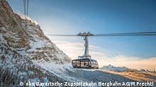 Reabren famoso teleférico en los Alpes bávaros