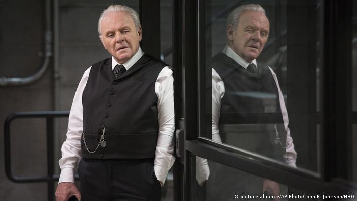 HBO series Westworld with Anthony Hopkins (picture-alliance/AP Photo/John P. Johnson/HBO)