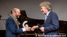 19.12.2018 Verleihung des Beethoven Preises mit Torsten Schreiber, Intendant der Beethoven Academy, und Wolfgang Niedecken