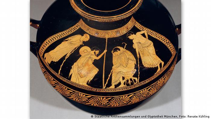 Древнегреческая кальпида 480 года до н.э.