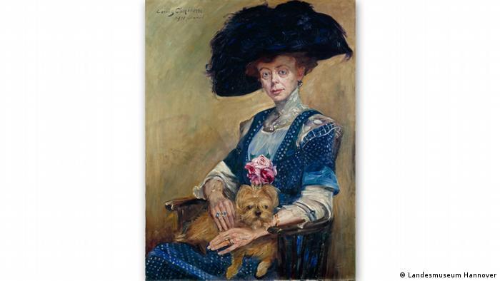 На этой картине 1911 года немецкий художник Ловис Коринт изобразил свою знакомую, госпожу Лютер.