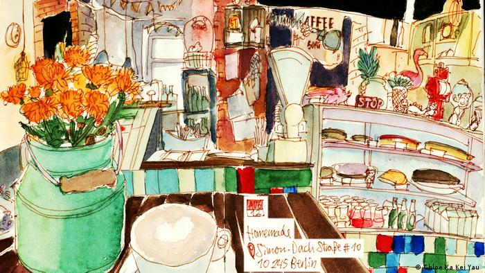 Book of Cafe Map (Chloe Ka Kei Yau)