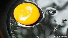 Symbolbild: Ein Ei in einer Pfanne. Das Eigelb ist links am Rand, im Eiweiß ist ein Gesicht zu erkennen