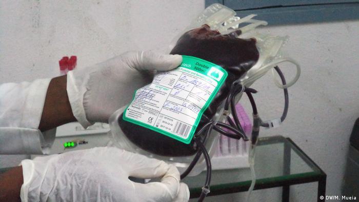 Mosambik Blutspende