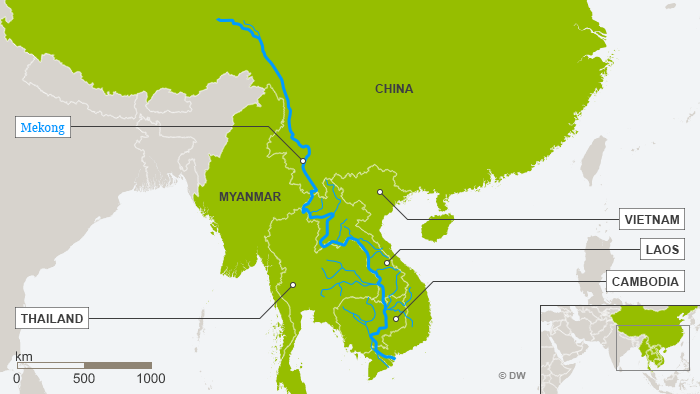 Laos Karte.Is Chinese Investment Taking Over The Mekong Asia An In Depth