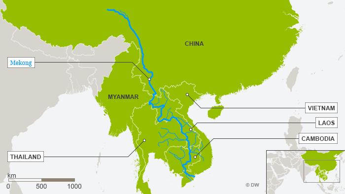 Karte Mekong ENG