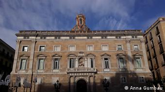The historic palace that houses the Catalan government (Anna Gumbau)