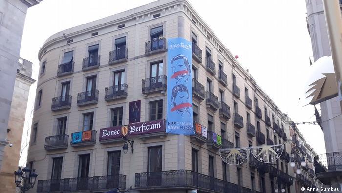 Spanien Barcelona vor der Wahl (Anna Gumbau)
