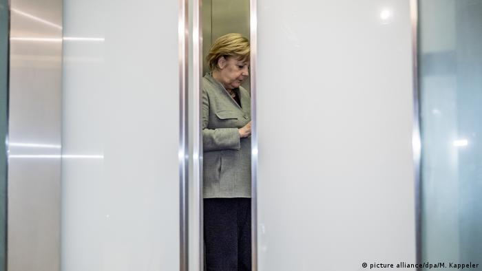 Deutschland Sondierungsgespräche Merkel